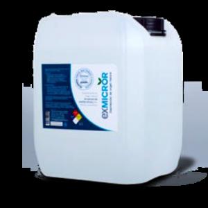 Desinfectante y Sanitizante EXMICROR, Desinfectante EXMICROR de 5 litros