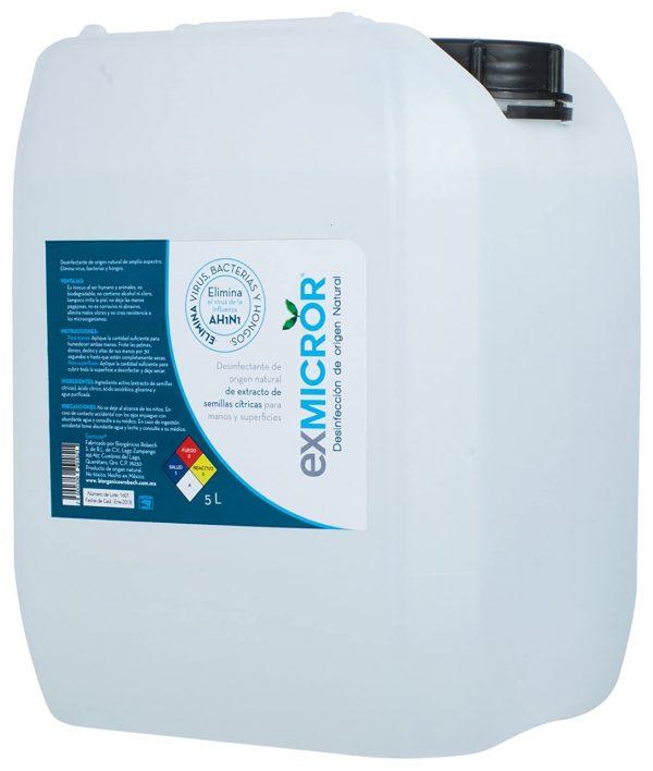 Desinfectante EXMICROR de 5 litros
